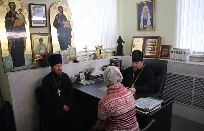 Епископ Викентий встретился с семьей священнослужителя Айлино