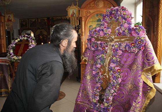 В празднование памяти Андрея Первозванного в храм Вознесения Господня прибудут святые мощи